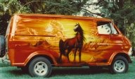 When Custom Vans Were Cool - Kustom Airbrush