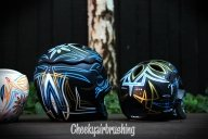 Pinstriping skulls - Cheekyairbrushing com au