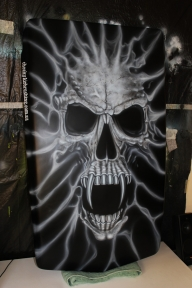 Skull scoop - Cheekyairbrushing com au