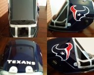 Texans welding helmet - My Designs