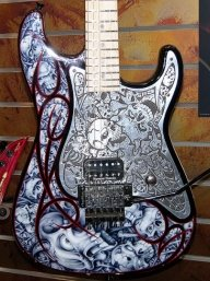 Guitar Kustom Airbrush by C.Fraser - Favorite Art