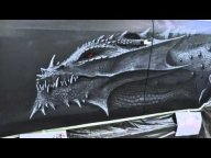 Cтудия CRAZY BRUSH. Аэрография. Dragon - Airbrush Videos
