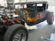 RAT ROD from Airbrush artist Xtraordinair in Grand Rapids, MI 49504 - Kustom Airbrush