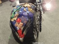 Cool Airbrush Jobs From Motorcycle Show NYC 2011 - Favorite Art