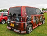 Bromley Pageant of Motoring 2013: Honda SMX with added airbrush art - Kustom Airbrush