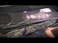 Video Automotive Airbrush Graphics  - Tuning Cars Airbrush