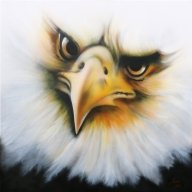 Canvas 100x100cm - Airbrush Artwoks