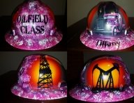 ladies hard hat by ZimmerDesignZ.com - Hard Hats