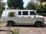 my air-brush work on my chevy - chevy van