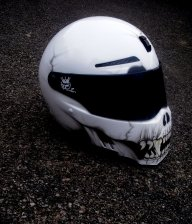 skull monster - helmets