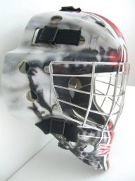 300 Goalie Mask RH - Airbrush Artwoks