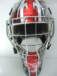 300 Goalie Mask Front - Airbrush Artwoks
