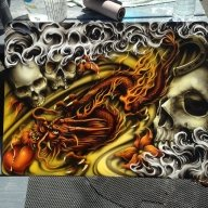 "Mr. Templeton ""Ryno"" Artwork - http://www.blast-of-air.com - Kustom Airbrush"