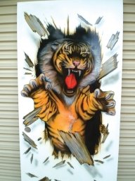 Boys room door - Airbrush Artwoks