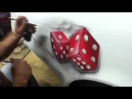 Russ!! here ya go! Dice with smoke 'how to' - Airbrush Forum - Airbrush Videos
