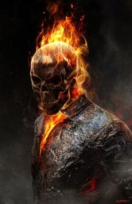Ghost Rider - Its not Airbrush but an exellent example, for your own.