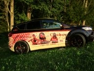 Ford Kuga 2011, Body Airbrush - Airbrush Switzerland