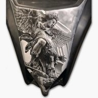 Another Awesome job - http://www.justairbrush.com/airoilandlead - Friends
