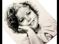 Airbrush drawing Shirley Temple - YouTube - Airbrush Videos