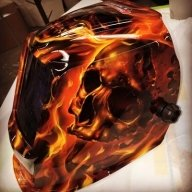 Burning work mask by KillerPaint - Kustom Airbrush
