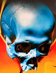 Skull color reflections - Favorite Art
