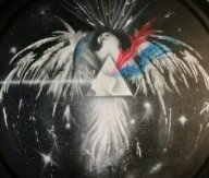 Inspired by Pink Floyde - Jeep Spare Tire Cover Art - Personal Projects