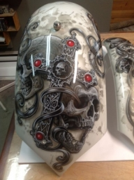 Once again, #Skulls - Kustom Airbrush