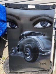 BEERFRIDGE FRONT - Airbrush Garage