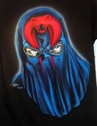 Cobra Commander by Tim Miklos - My Paintings
