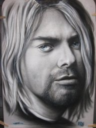 Kurt Cobain by Tim Miklos - My Paintings