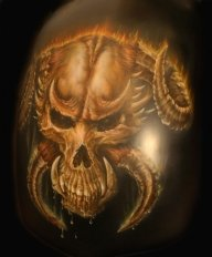 hell - Airbrush Artwoks