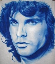 Jim morrison on a t-shirt - My Paintings