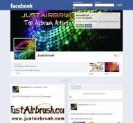 Follow Us on the Official FanPage! - JustAirbrush FAQ