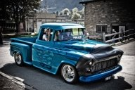 Ghost Flame Truck by AmericanMuscle - Kustom Airbrush