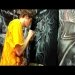 Airbrush Lion White on Black Shirt - YouTube